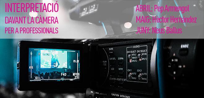 Interpretación ante la cámara: Pep Armengol, Hector Hernandez y Neus Ballús