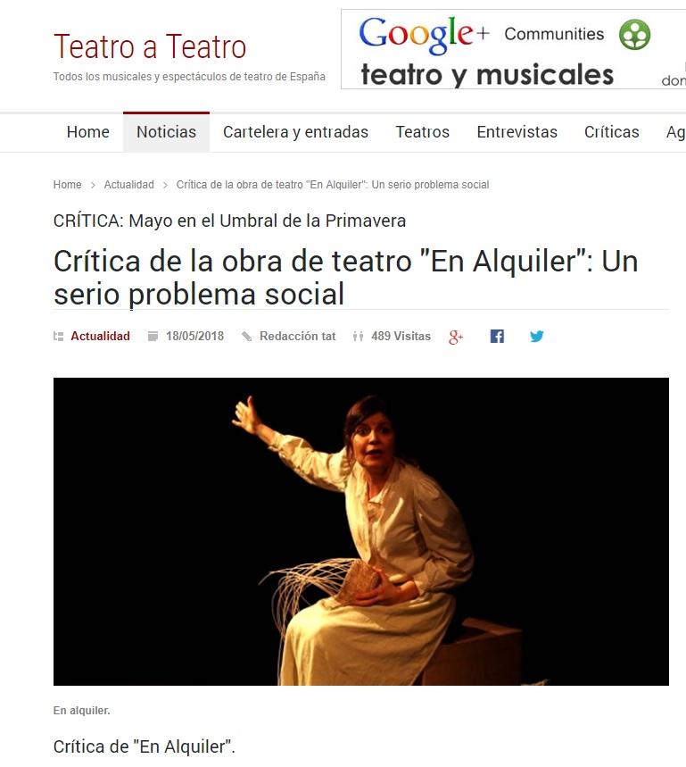 Teatro a Teatro